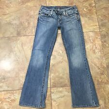 SILVER Tuesday Bootleg Distressed Jeans Size 28x30  C220