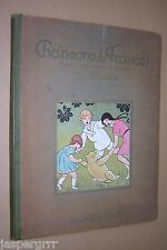 1926. CHANSONS DE FRANCE. ILLUSTRATED BY MALO RENAULT. FRENCH SONGS.
