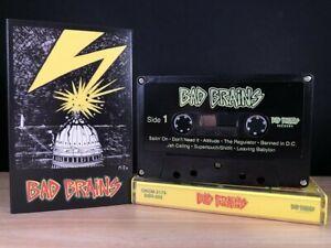 Bad Brains - S/T Cassette Black Cassette Punk Rock