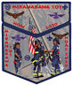 Boy Scout Order of the Arrow Mikanakawa Lodge 101 OA Flap NOAC 2020 Patch Set