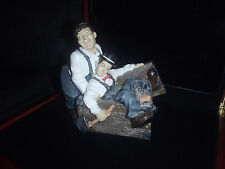 Extremely Rare! Laurel & Hardy Piggy Bank ll Figurine Statue