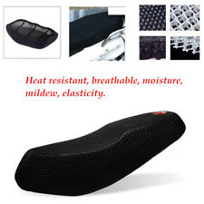Anti-slip Motorcycle Black 3D Seat Cover Net Breathable Heat Insulation Sleeve