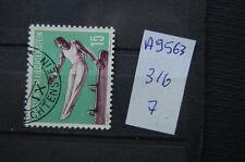 FRANCOBOLLI LIECHTENSTEIN USATI N. 316 (A9563)