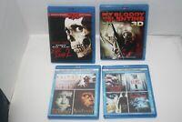 Horror Blu Ray Dvd Lot 4 CASES 9 MOVIES Halloween