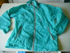kway k-way veste vintage vert  se met en boule T 5