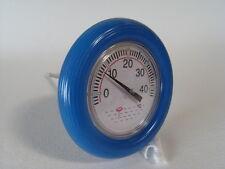 Thermometer Schwimmring, blau, mit Schnur