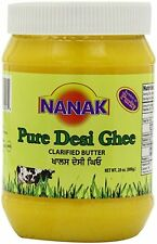 Nanak Pure Desi Ghee, Clarified Butter, 28-Ounce Jar