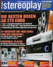 Stereoplay 3/04 Lua Sinfonietta, Elac BS 103.2, Epos ELS 3, Heco Krypton 200