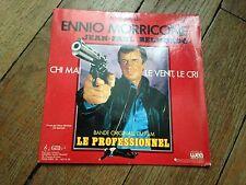 chi mai  45 tours BO du film le professionnel jp belmondo ennio morricone (1981)