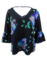 City Chic Women's Trendy Plus Size Floral-Print Top