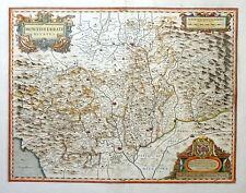 ITALIEN ITALY PIEMONT MONTISFERRATI DUCATUS MONTFERRAT TURIN WAPPEN BLAEU 1640