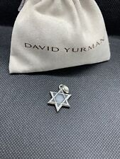 David Sterling Silver Amulet Enhancer David Yurman New Star of