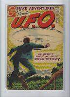 SPACE ADVENTURES PRESENTS U.F.O. #60 CHARLTON SILVER AGE SCI-FI COMIC BOOK