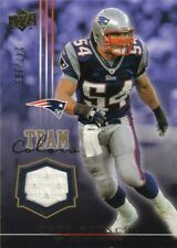 Tedy Bruschi 2008 Upper Deck Team Colors Gold Jerseys Card TCTB 247/299 Patriots