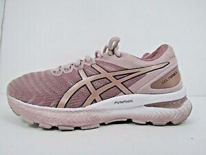 WOMEN'S ASICS GEL NIMBUS 22 size 7 ! WORN LESS THAN 10 MILES !RUNNING SHOES!