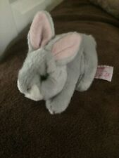 RUSS BERRIE SOFT TOY BUNNY PINK EARS  FIRM FEEL