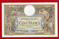 (Ref: P.381)  100 FRANCS LUC OLIVIER MERSON 6/01/1917 (SUP-)