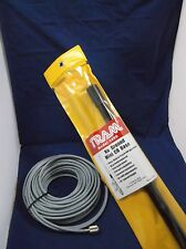 TRAM BROWNING 1499 MINI CB BASE STATION ANTENNA, 50FT RG8X COAX CABLE W/ PL259'S