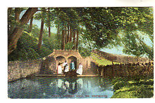 Upwey Wishing Well - Photo Postcard 1908 / Weymouth