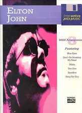 ELTON JOHN - PARTITIONS - TABLATURES - SONGBOOK -1994 - SANS LA DISQUETTE !