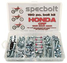150pc Honda CRF Bolt Kit CRF150R CRF250R CRF450R Plastic body engine 150 250 450