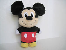 "Fisher Price MICKEY Mouse Clubhouse Cuties TALKING 11"" Plush Stuffed Animal"