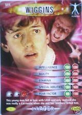 DR WHO INVADER CARD 511 WIGGINS  - MINT !!