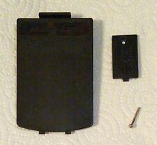 Black battery cover set for Texas Instruments Ti-83 Plus series calculators