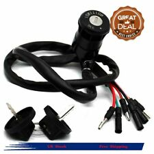 Ignition Key Switch Fit For Honda 1986 1987 TRX350 ATV Fourtrax Parts #F57