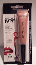 Rouge à Lèvres Liquide Mat Infaillible Lip Paint 208 Off White L'Oréal