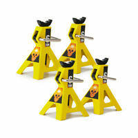 For Axial SCX10 Wraith TRX4 D90 RC Crawlers 4pcs Metal Adjustable Jack Stands