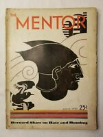 ANTIQUE ~ The Mentor Magazine ~ March, 1930 ~ Volume 18 ~ Number 2