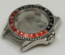 GMT Watch case set black red ETA 2836 2824-2 Seagull ST1612, Miyota 8205 master