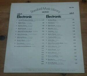 Standard Music Library Electronic UK 1969 ESL 104 Russe / St George / Vorhaus