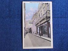 Havana Cuba/Obispo Street-Shops-People/Printed Color Photo Postcard/Unposted