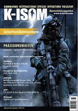 K-ISOM Spezial I/2018 Scharfschützensysteme & Präzisionswaffen Polizei Militär