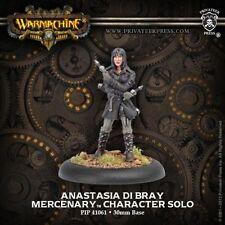 Warmachine: Mercenaries Anastasia di Bray Character Solo PIP 41061