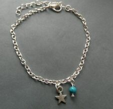 Handmade Turquoise Costume Anklets