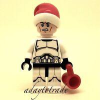 LEGO Minifigure Star Wars sw596 Santa FREE POST Christmas Clone Trooper