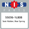 55036-1LB0B Nissan Seat-rubber, rear spring 550361LB0B, New Genuine OEM Part