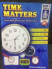 Brand New Time Matters Australian Curriculum Mathematics By RIC Textbook