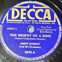 Jimmy Dorsey: The Mem'ry Of A Rose / I Hear A Rhapsody: Decca 1941 (Jazz)