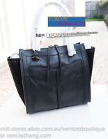 BNWT RRP$499 MIMCO Highland Leather Tote Satchel Shoulder Bag Handbag Black