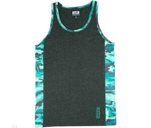 New Mens Neff Kirk Tank Sleeveless Shirt Medium Charcoal Heather