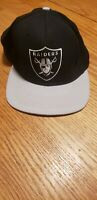 Vintage 90s Los Angeles RAIDERS fitted  HAT 7 3/8 American Needle RARE Oakland