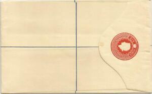 Bahamas   QEII   Six 6 Pence   Unused    Registered Letter  /  Postal Stationery