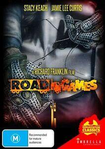 Road Games - Stacy Keach - Jamie Lee Curtis - New & Sealed All Region DVD.