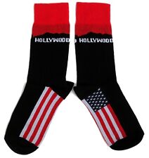 MENS USA HOLLYWOOD HILLS SIGN SOCKS UK SIZE 6-11 / EUR 39-46 / USA 7-12