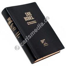 Schlachter 2000 Bibel Standardausgabe Rindsleder schwarz flexibel