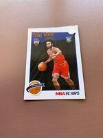 2019-20 NBA HOOPS PANINI COBY WHITE # 295 TRIBUTE ROOKIE  BASKETBALL CARD BULLS